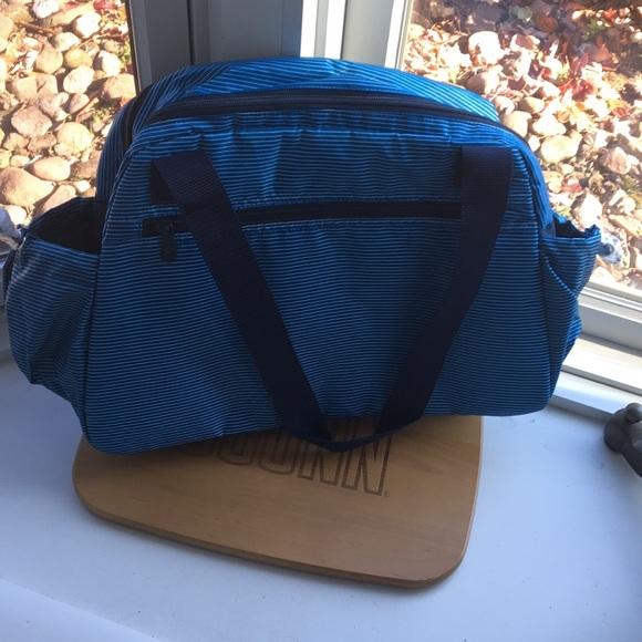 Thirty One Take the Day Diaper Bag - Skinny Stripe
